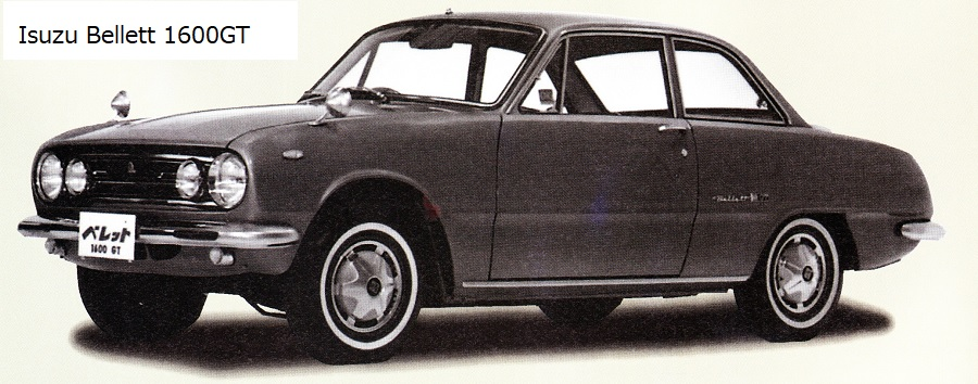 Isuzu  Bellett  GT  1964-1973