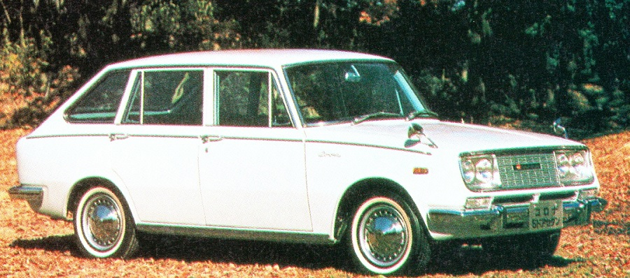 Toyopet Corona 5door Sedan Engine:I4 OHV 1490cc