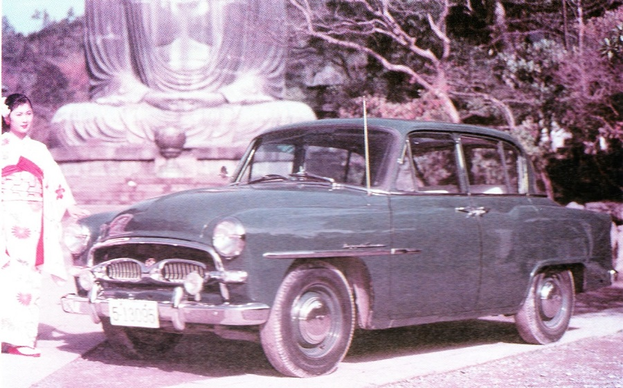 Toyopet Crown Deluxe 1959-1960 (Make TOYOTA)