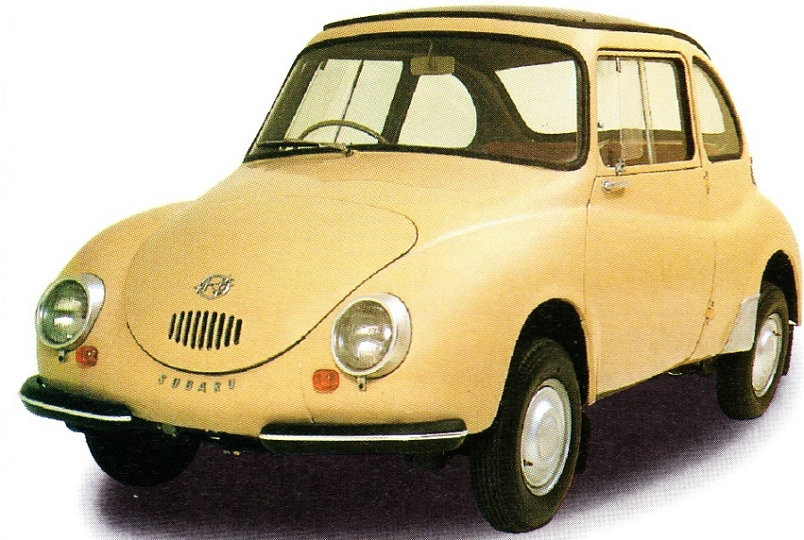 Subaru 360 1958-1971 Engine:360cc Japanses is call Ladybug